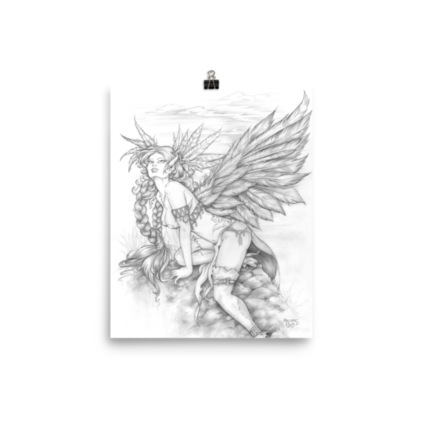 Feather Wings 8×10 Art Print