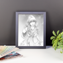 Lila Framed 8×10 Art Print