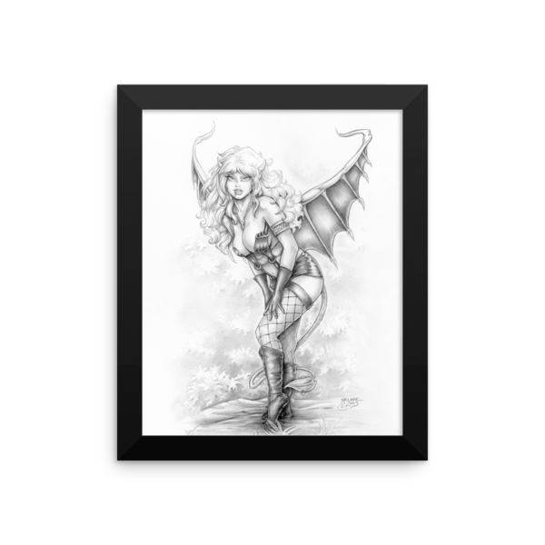 Demoness Framed 8×10 Art Print